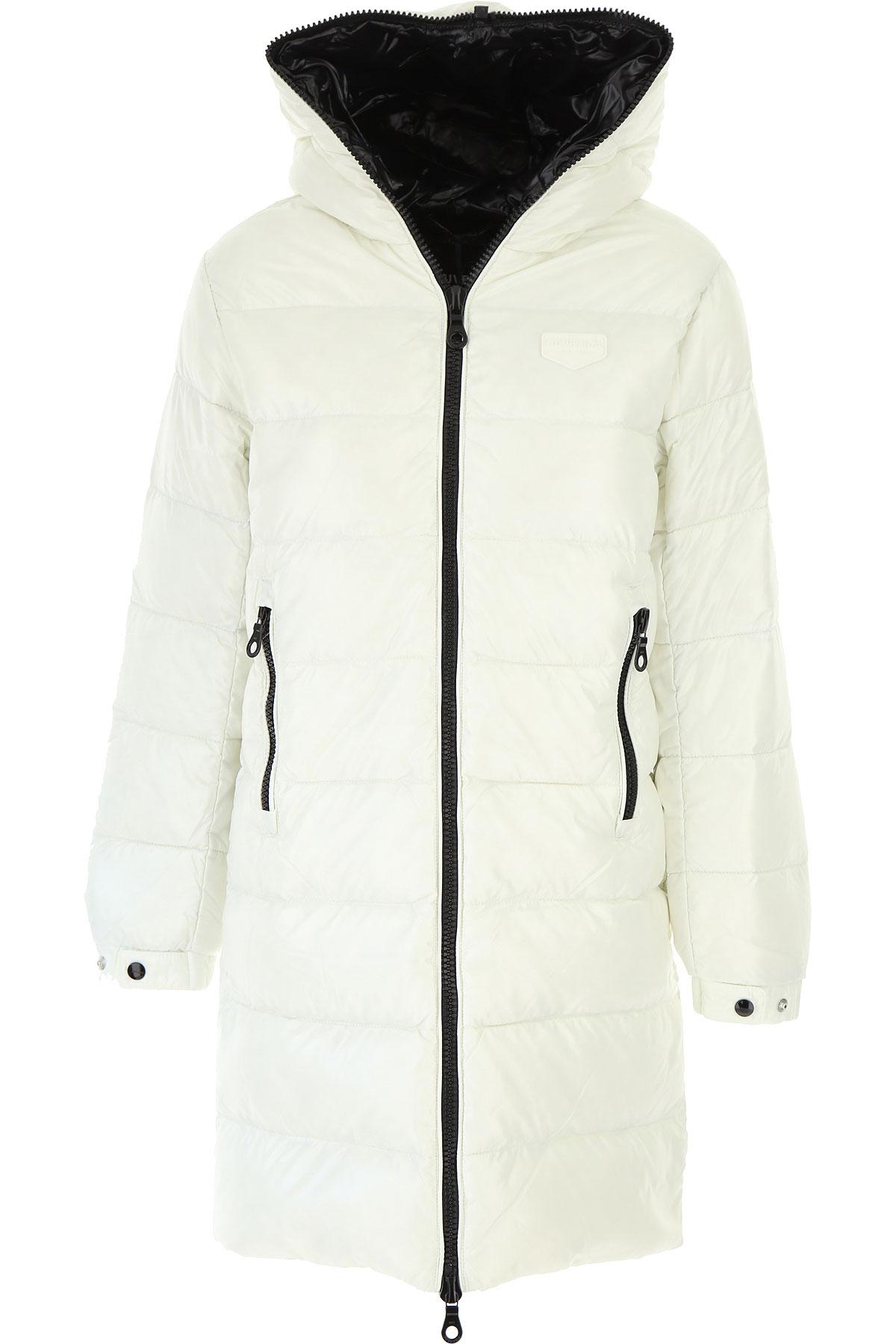 Duvetica Down Jacket for Women, Puffer Ski Jacket On Sale, White, polyamide, 2019, 2 6