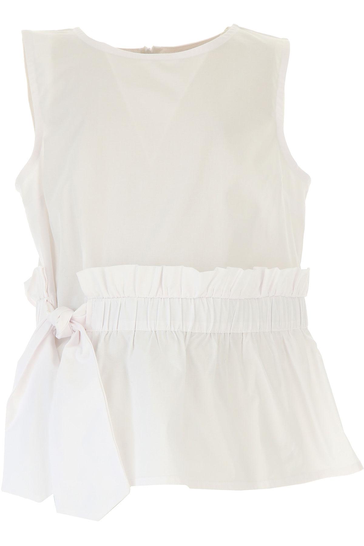 Dixie Chemises Enfant pour Fille, Blanc, Coton, 2017, L (12 Y) XL (14 Y) XXL (16 Y)
