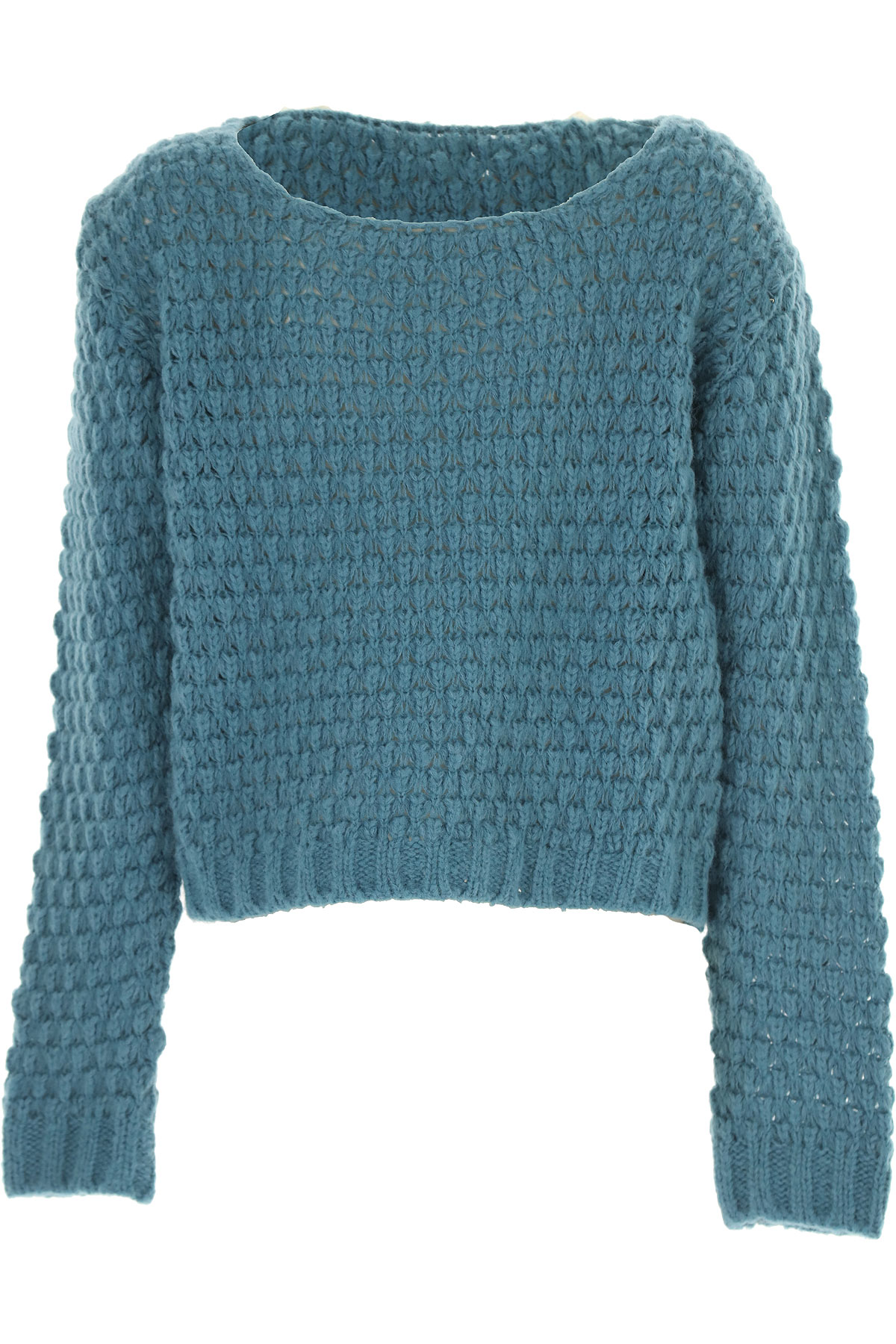 Dixie Kids Sweaters for Girls On Sale, Teal, polyamide, 2019, XL XXL