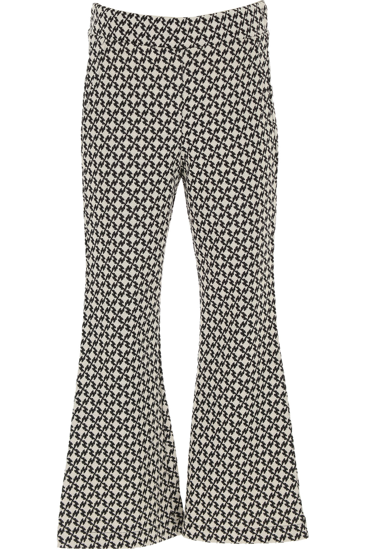 Dixie Kids Pants for Girls On Sale, White, polyester, 2019, S XL