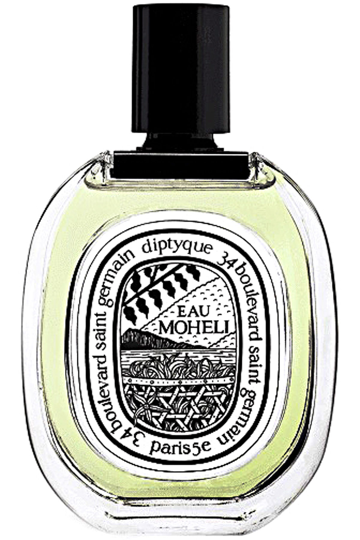 Diptyque Fragrances for Men, Eau Moheli - Eau De Toilette - 100 Ml, 2019, 100 ml