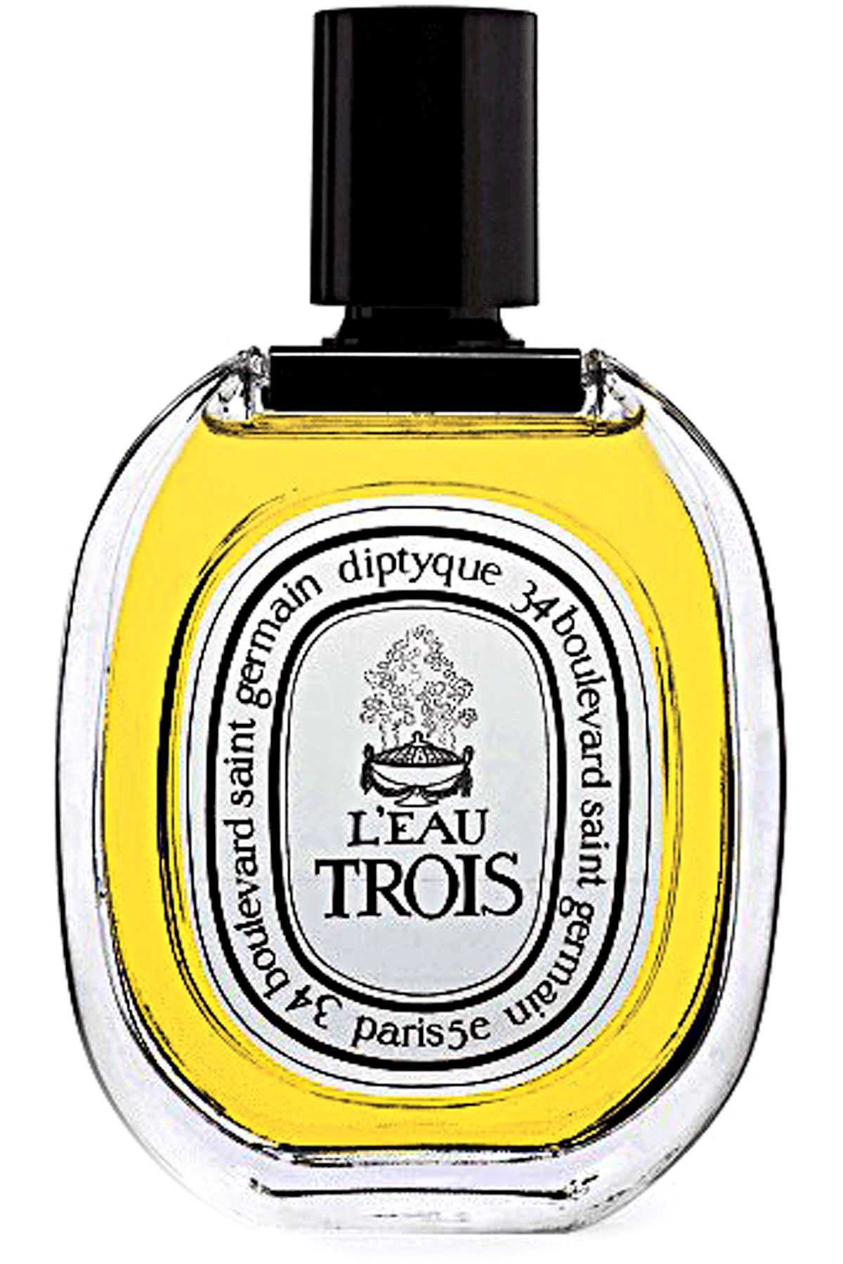 Diptyque Fragrances for Men, L Eau Trois - Eau De Toilette - 100 Ml, 2019, 100 ml