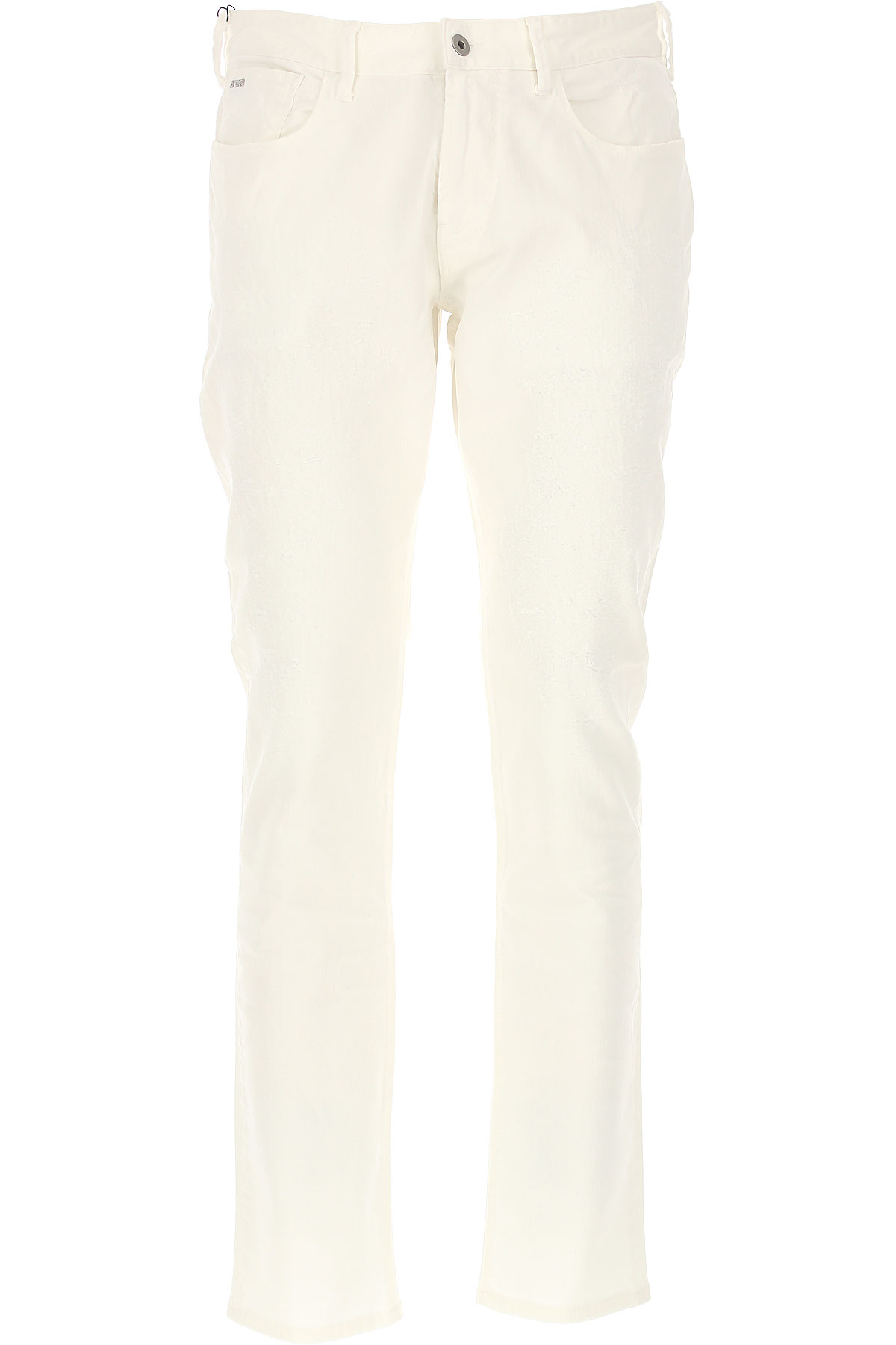 Emporio Armani Jeans, White, Cotton, 2017, 30 31 32 33 34 36 38