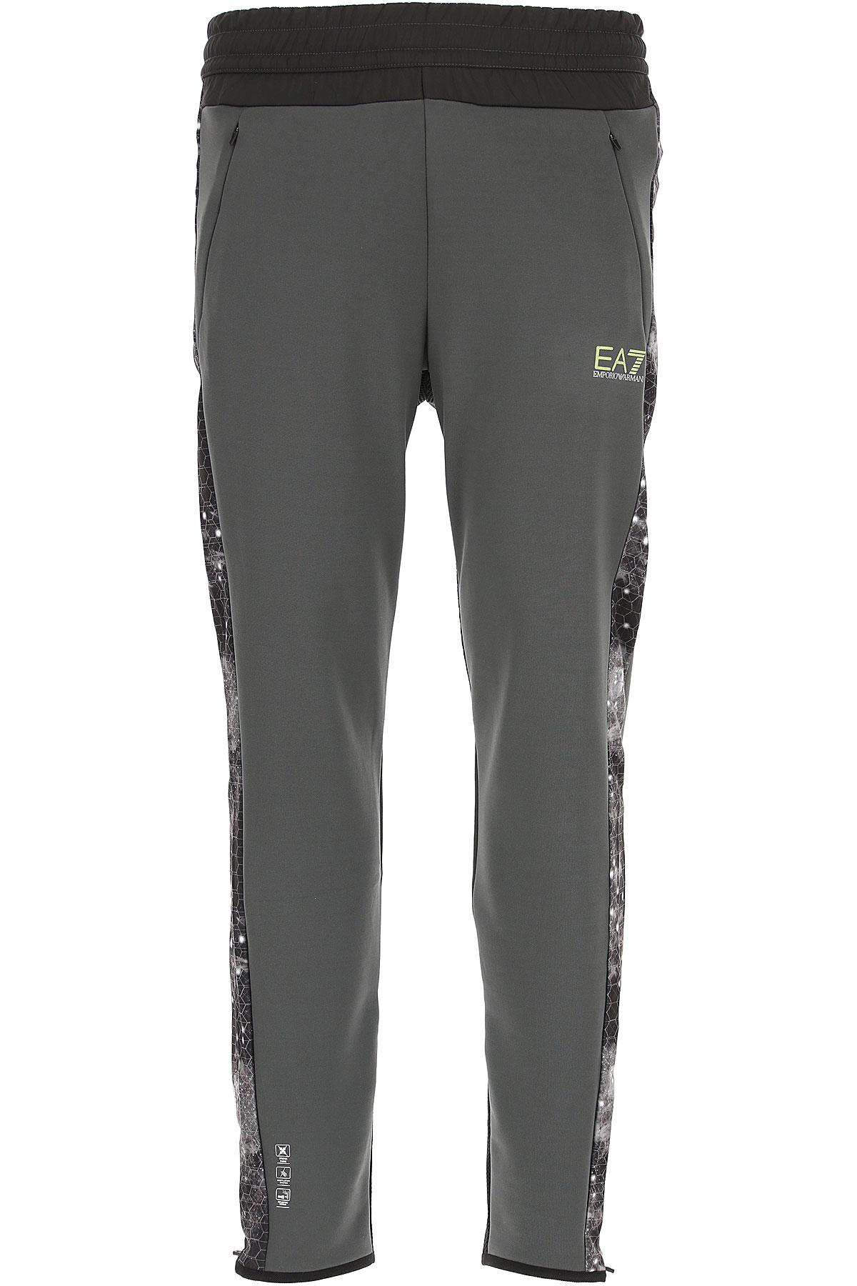 Emporio Armani Pantalon Homme Pas Cher En Soldes, Asphalte, Nylon, 2019, L S XL