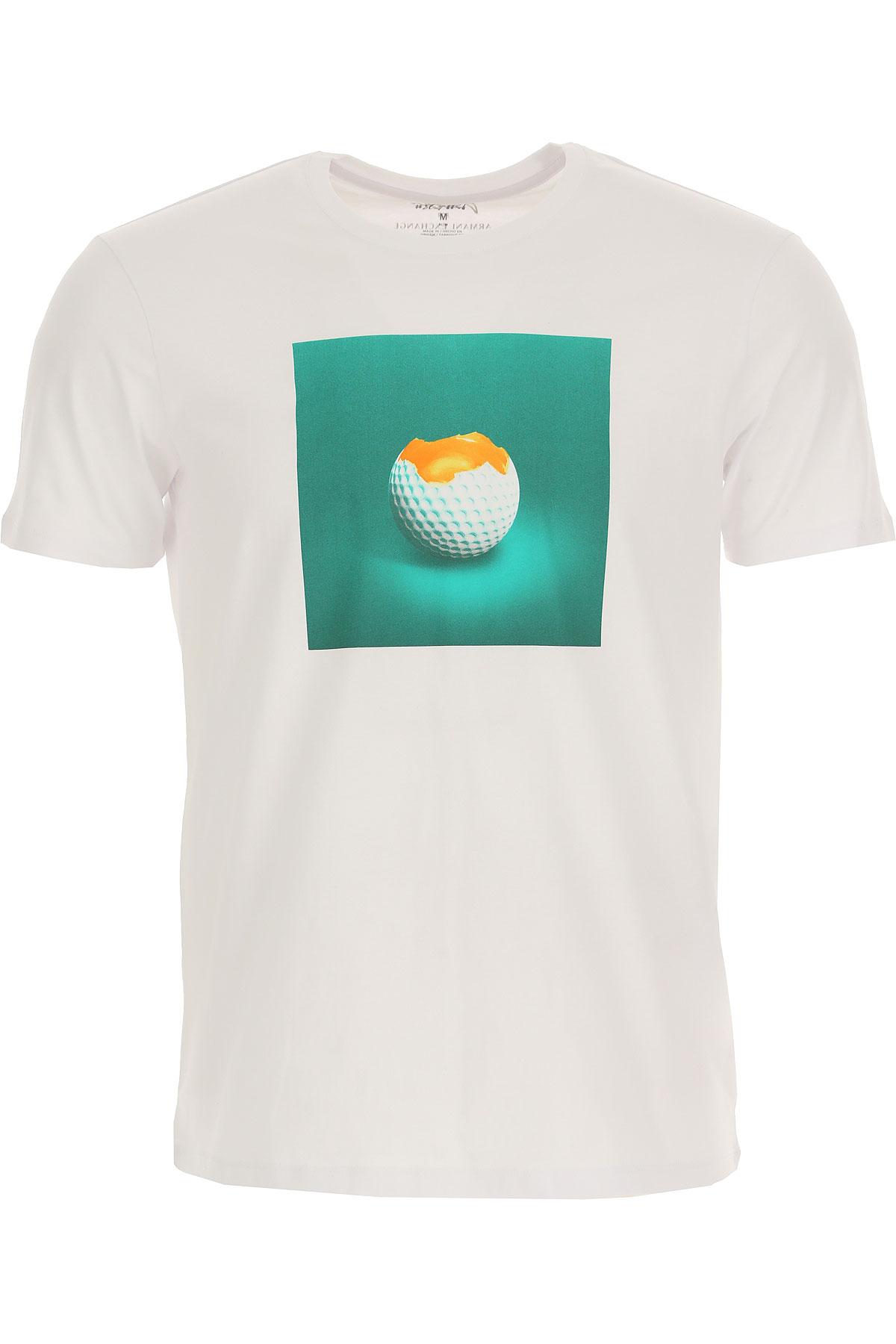 Emporio Armani T-shirt Homme Pas Cher En Soldes, Ax Street Art Limited Edition , Blanc, Coton, 2019, L M S XXL