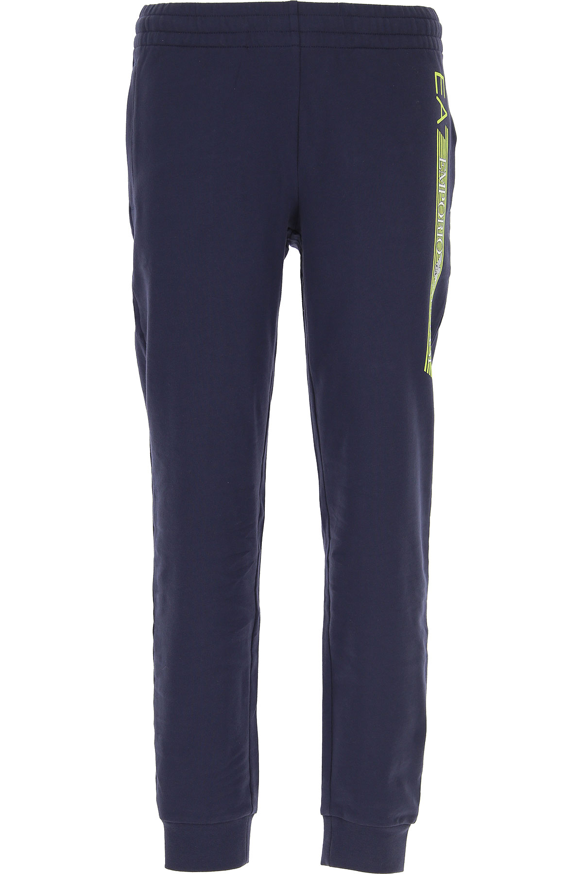 Emporio Armani Men's Sportswear for Gym Workouts and Running On Sale, Blue Navy, Cotton, 2019, L M S XL