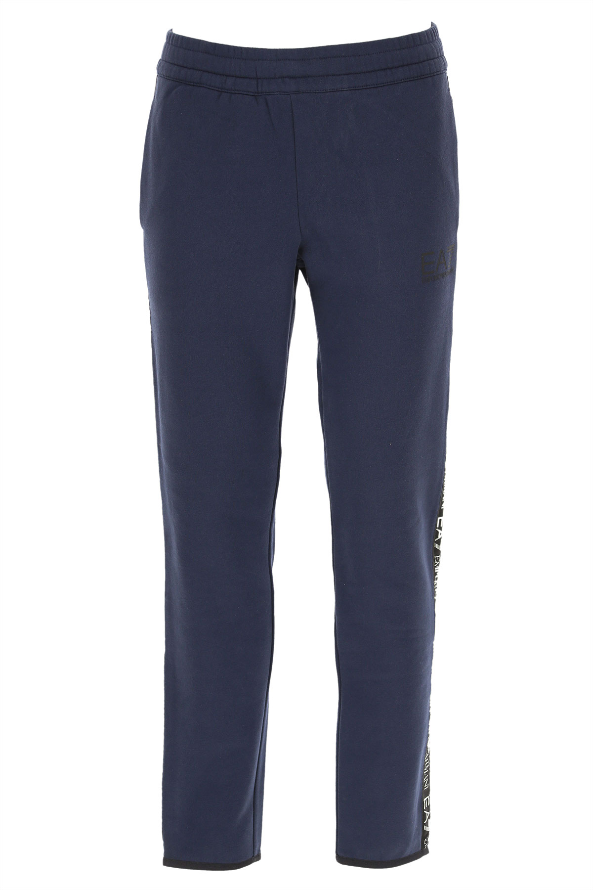 Emporio Armani Men's Sportswear for Gym Workouts and Running On Sale in Outlet, Blue Navy, Cotton, 2019, L M XL XXL