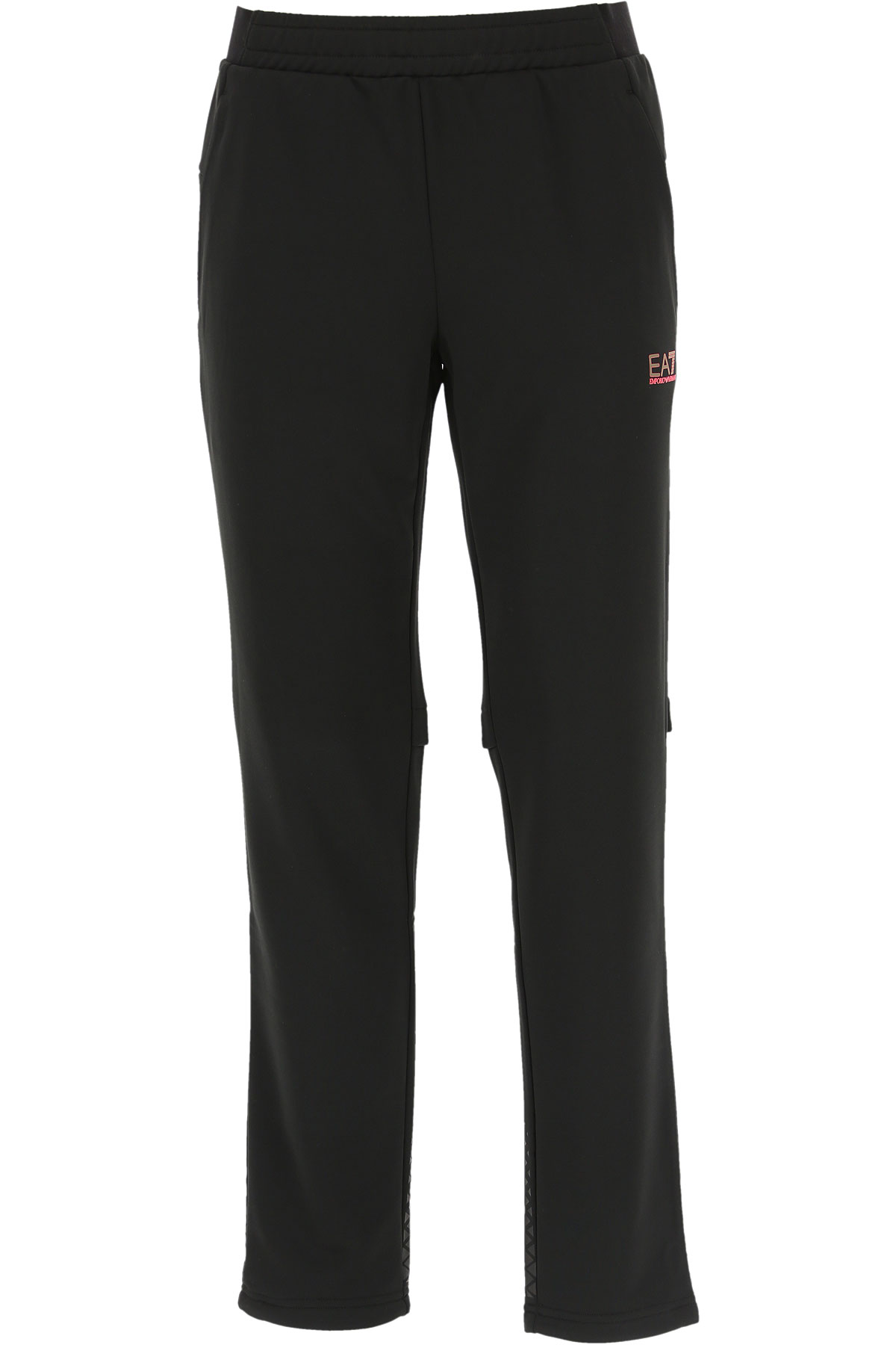 Emporio Armani Men's Sportswear for Gym Workouts and Running On Sale in Outlet, Black, polyester, 2019, L XL