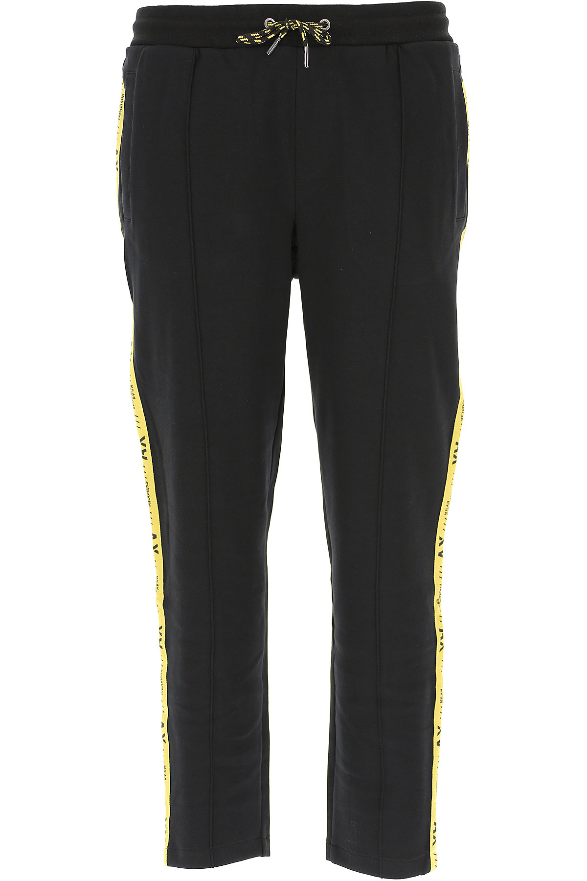 Armani Exchange Men's Sportswear for Gym Workouts and Running On Sale in Outlet, Black, Cotton, 2019, L XL XXL