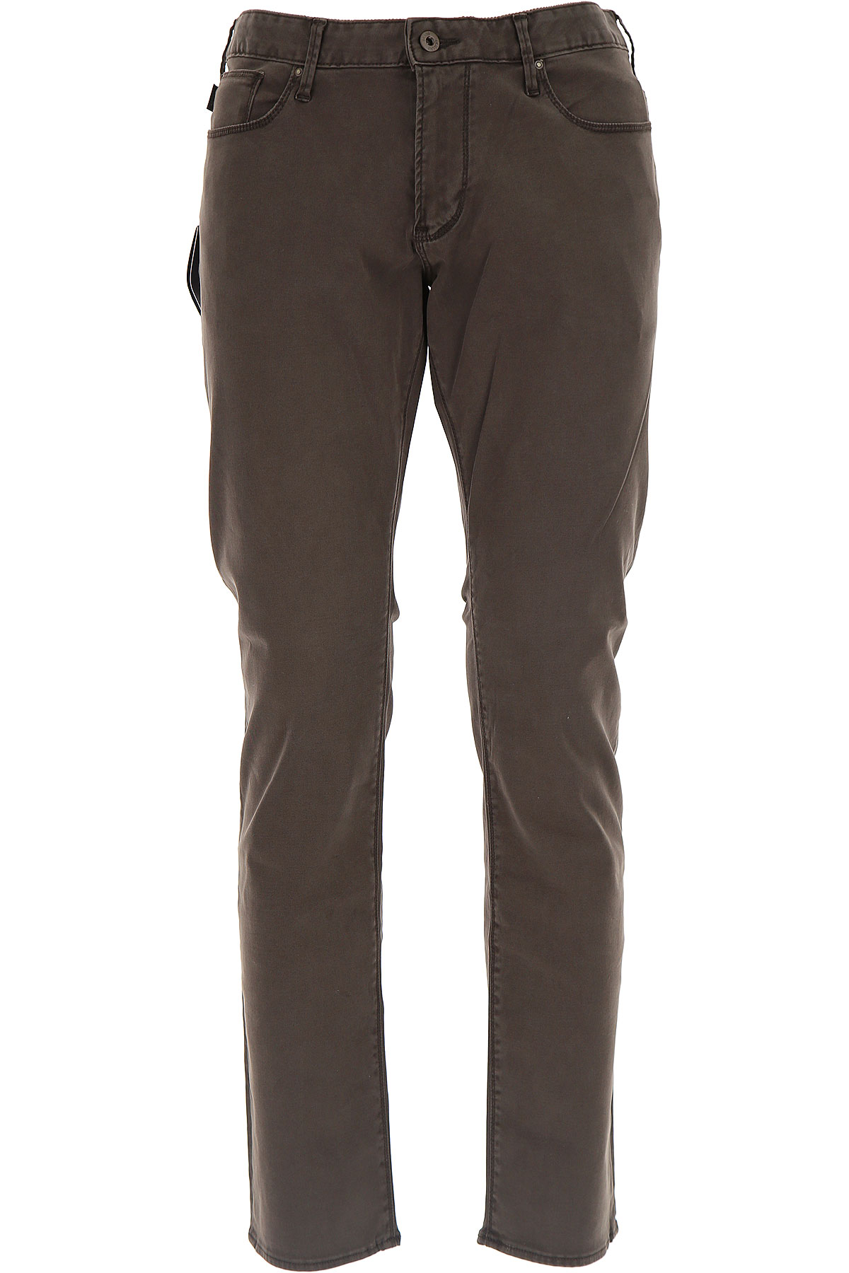 Emporio Armani Jeans On Sale in Outlet, Brown, Cotton, 2017, 29 33 34
