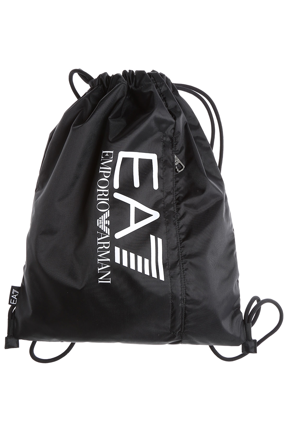 Image of Emporio Armani Backpack for Men, Black, polyester, 2017