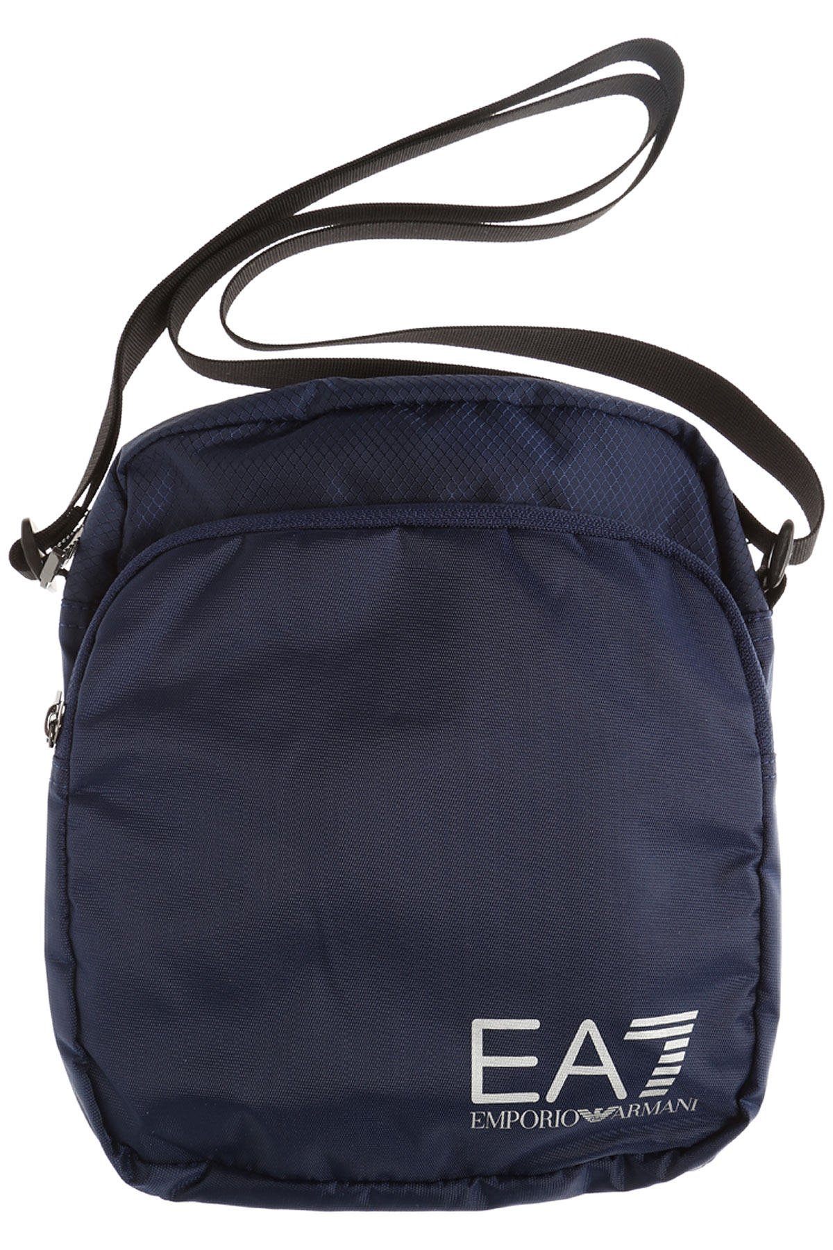 Image of Emporio Armani Messenger Bag for Men, Train Prime Pouch, Blue, polyamide, 2017