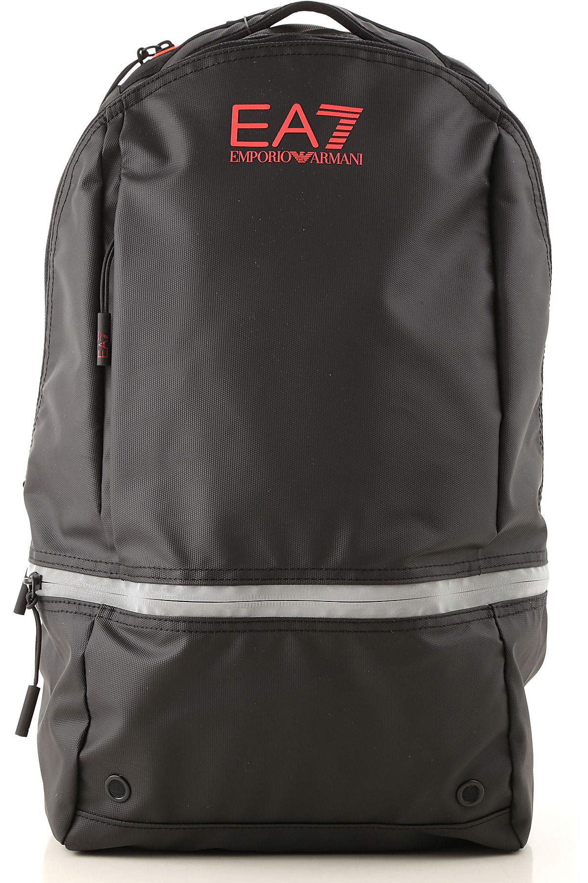 Emporio Armani Backpack for Men On Sale, Black, polyestere, 2019