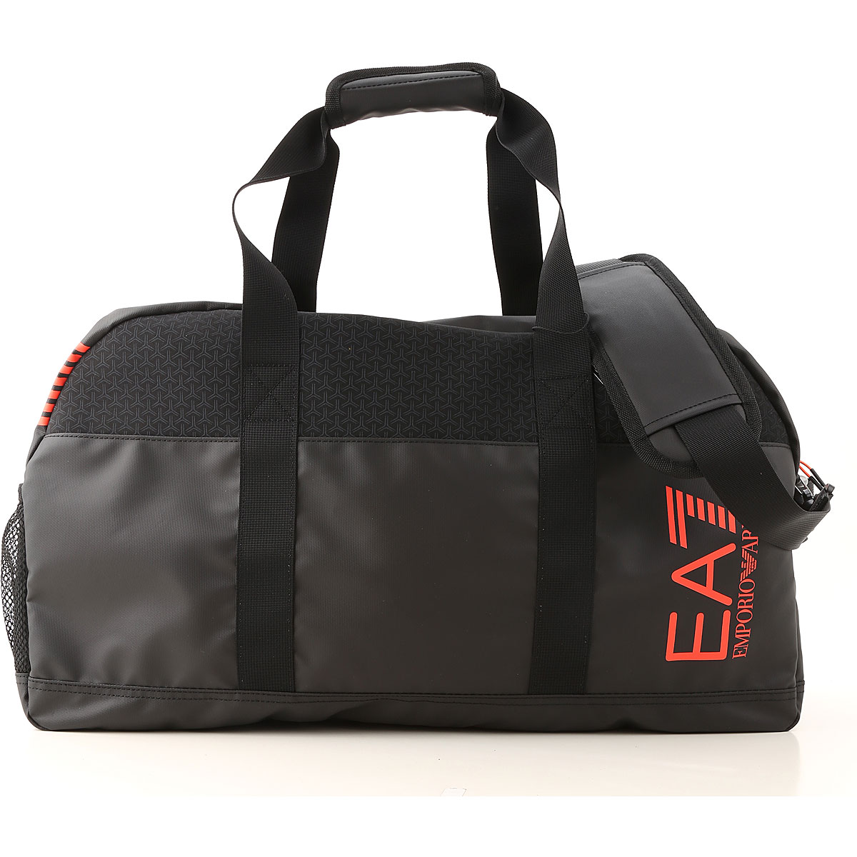 Emporio Armani Gym Bag Sports for Men On Sale, Black, polyester, 2019