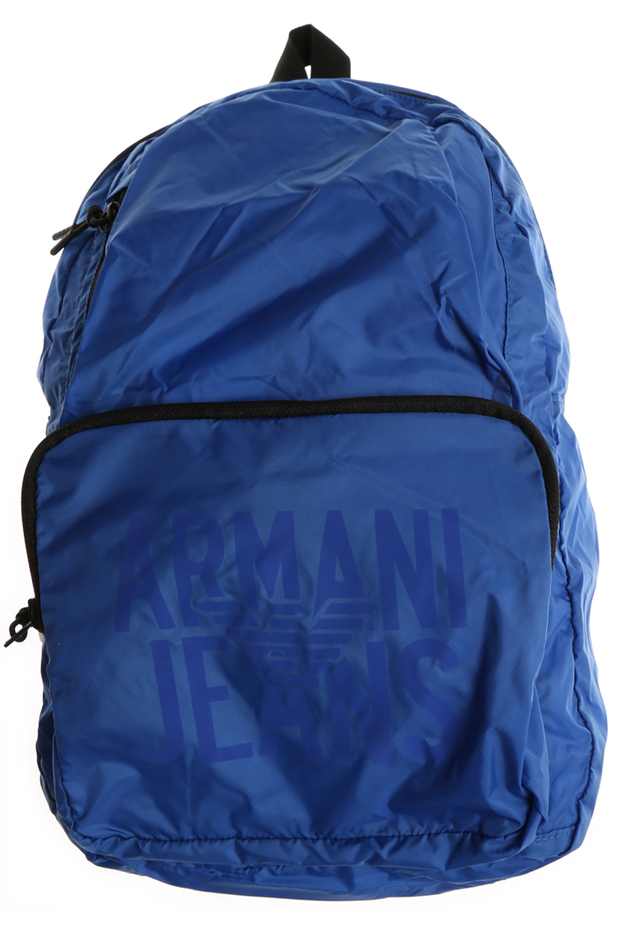 Image of Emporio Armani Backpack for Men, Bluette, Nylon, 2017