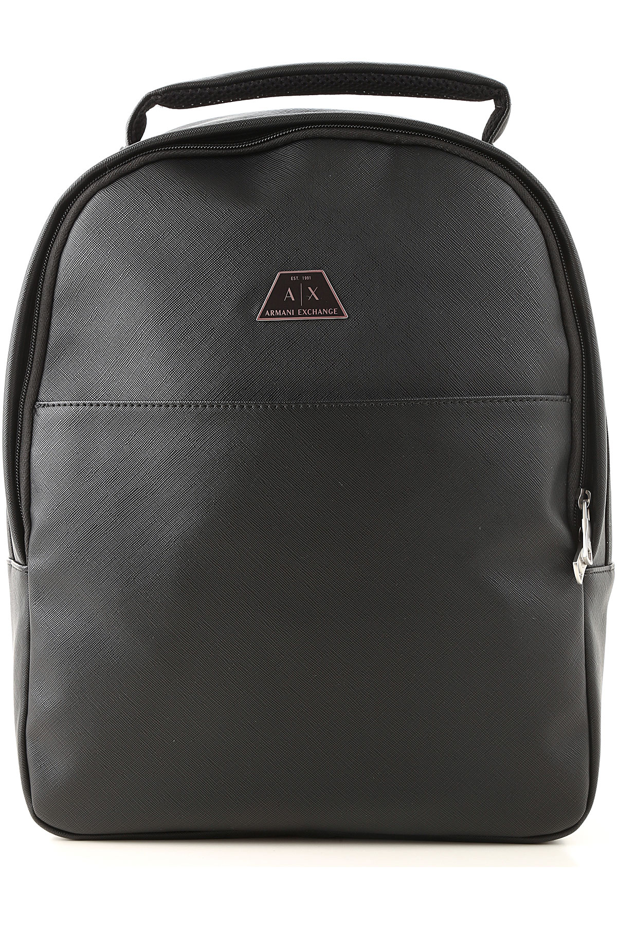 Armani Exchange Backpack for Men On Sale, Black, polyester, 2019