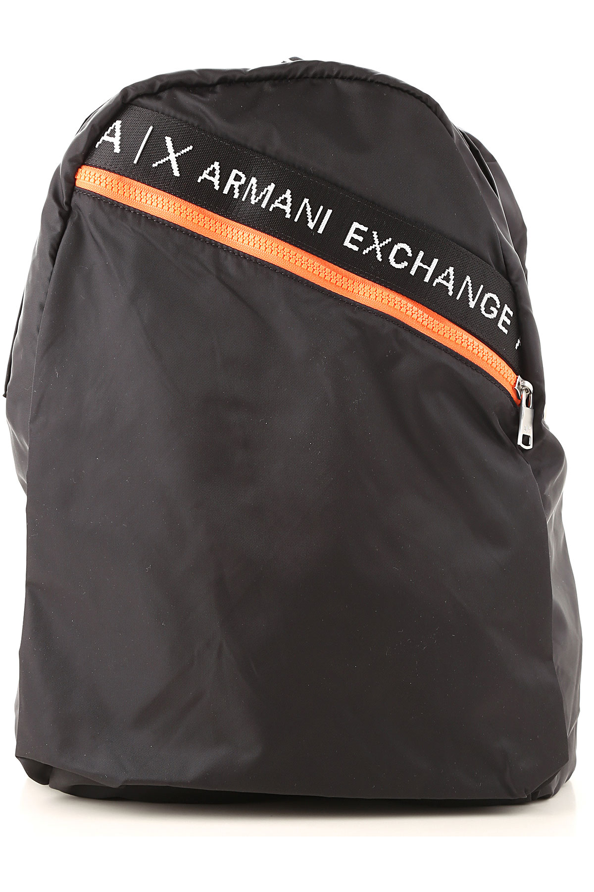 Armani Exchange Backpack for Men On Sale, Black, poliammide, 2019