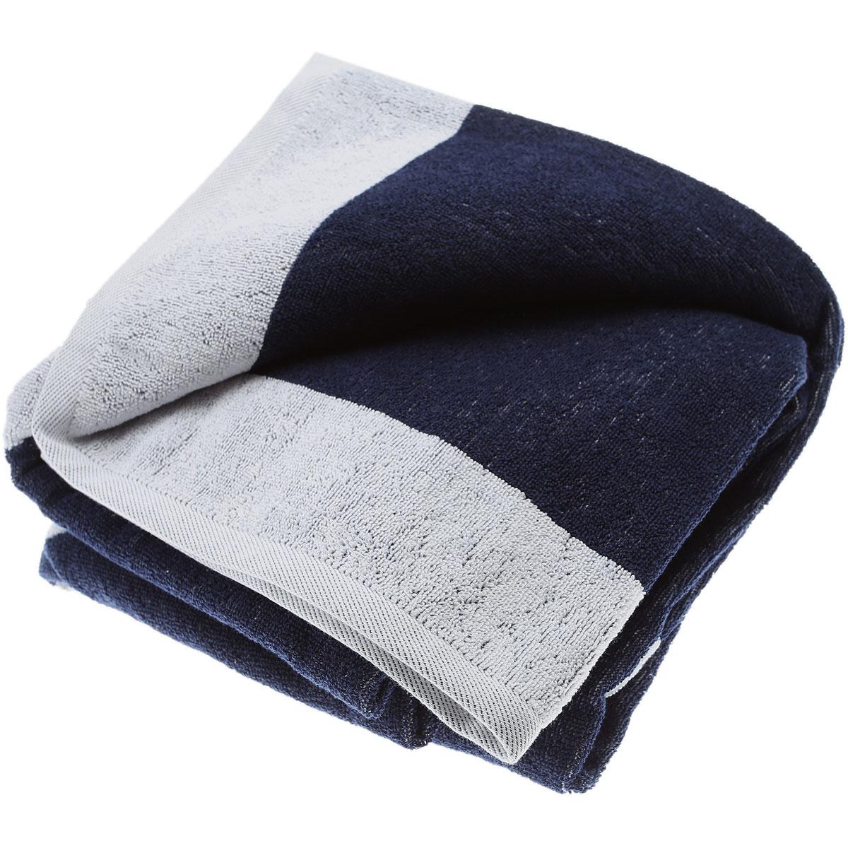 Emporio Armani Beach Towel On Sale, White, Cotton, 2019