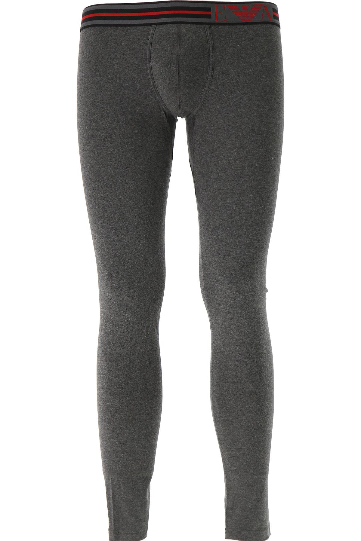 Image of Emporio Armani Loungewear for Men, Anthracite Grey, Cotton, 2017, M (EU 4) S (EU 3) L (EU 5) XL (EU 6)