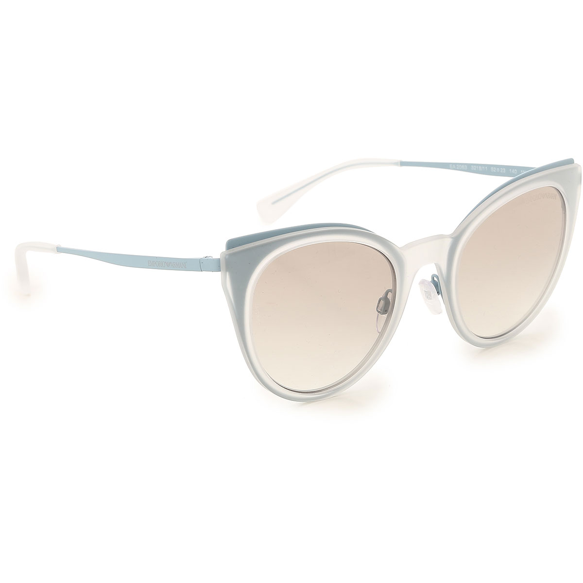 Image of Emporio Armani Sunglasses On Sale, Light Sky Blue, 2017