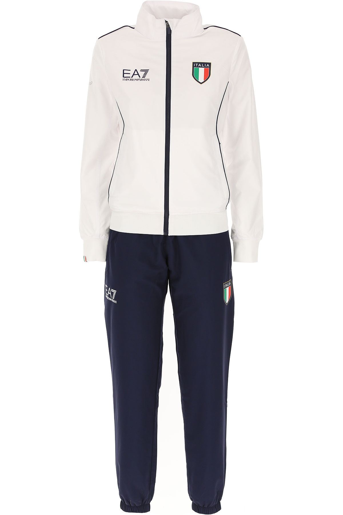 Emporio Armani Women's Sportswear for Gym Workouts and Running On Sale in Outlet, White, polyester, 2019, 10 8