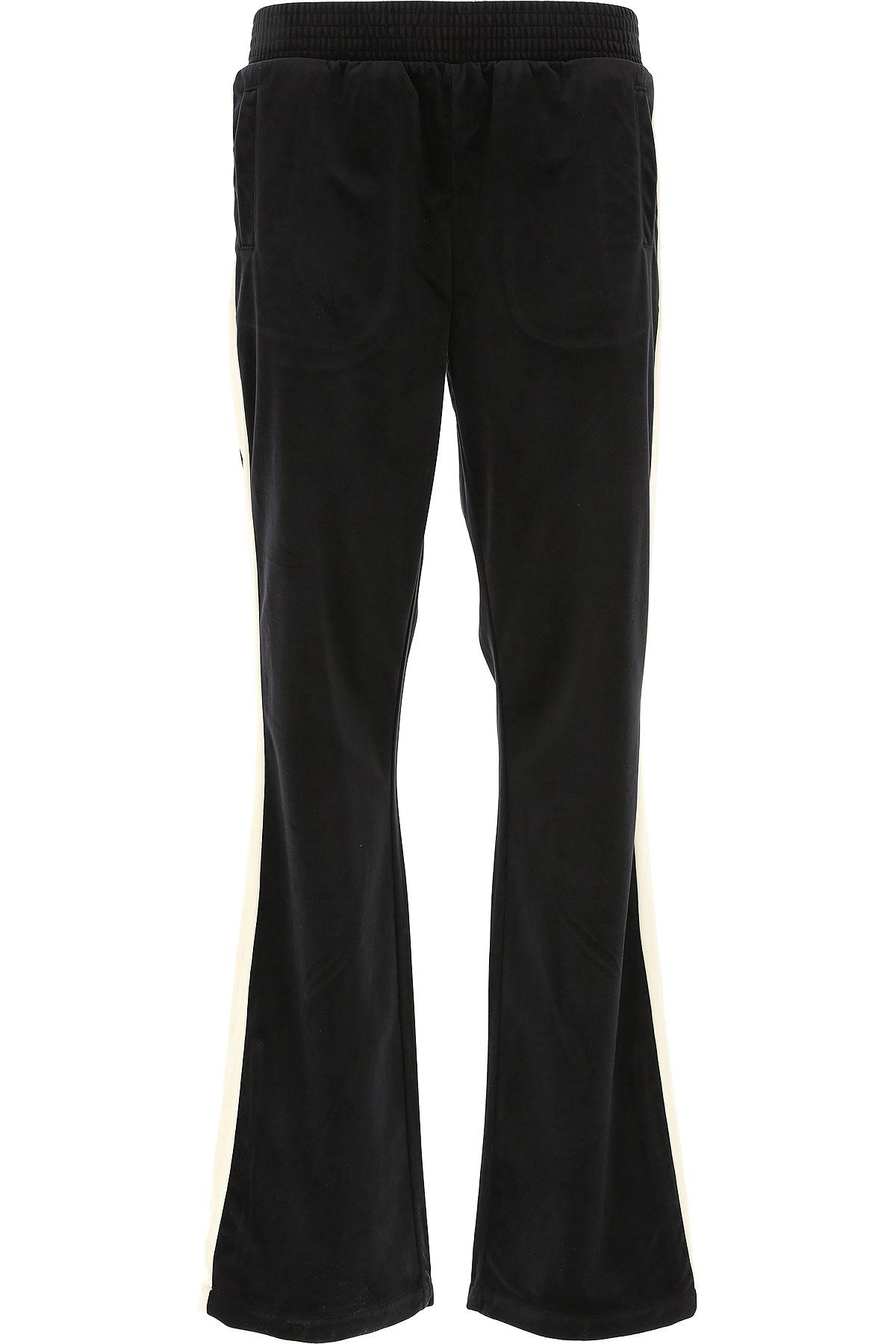 Image of Emporio Armani Sweatpants, Black, polyester, 2017, 12 24 26 28 30 4 6 8