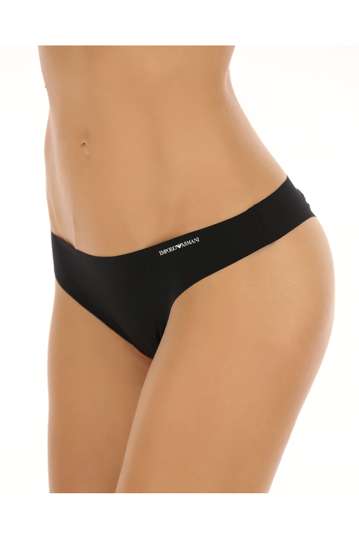 Image of Emporio Armani Womens Underwear On Sale in Outlet, Black, polyamide, 2017, S L