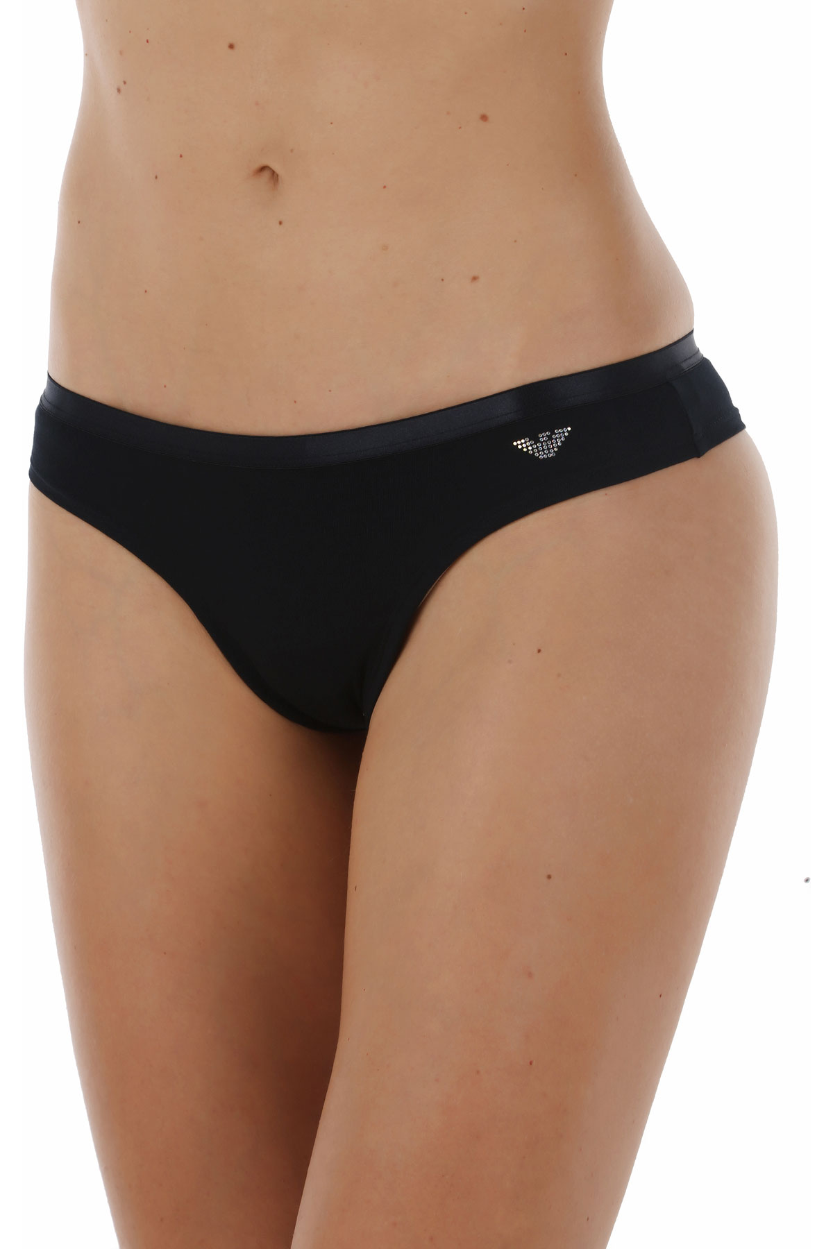 Image of Emporio Armani Womens Underwear On Sale, Blue Marine, Cotton, 2017, S M L