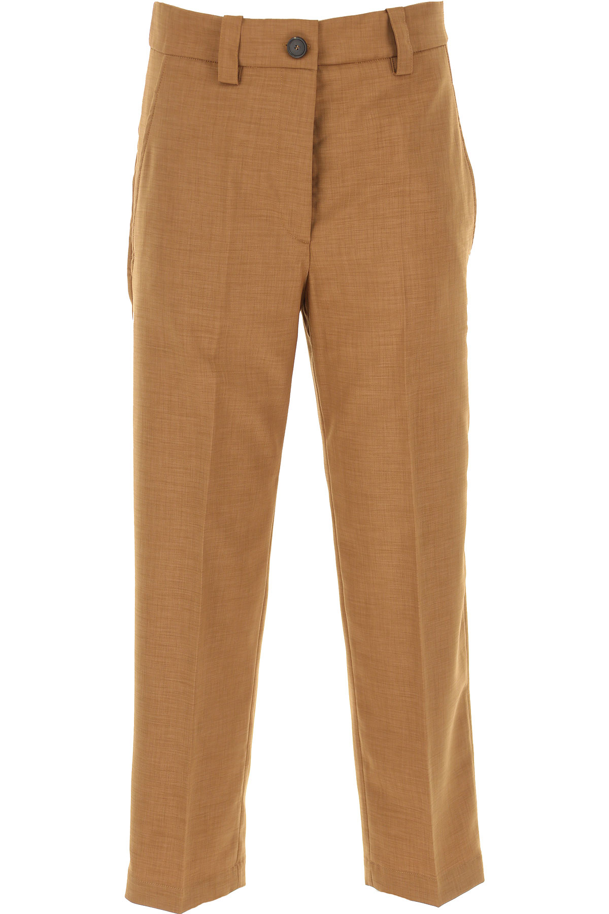Erika Cavallini Pants for Women On Sale, Camel, polyestere, 2019, 28 30