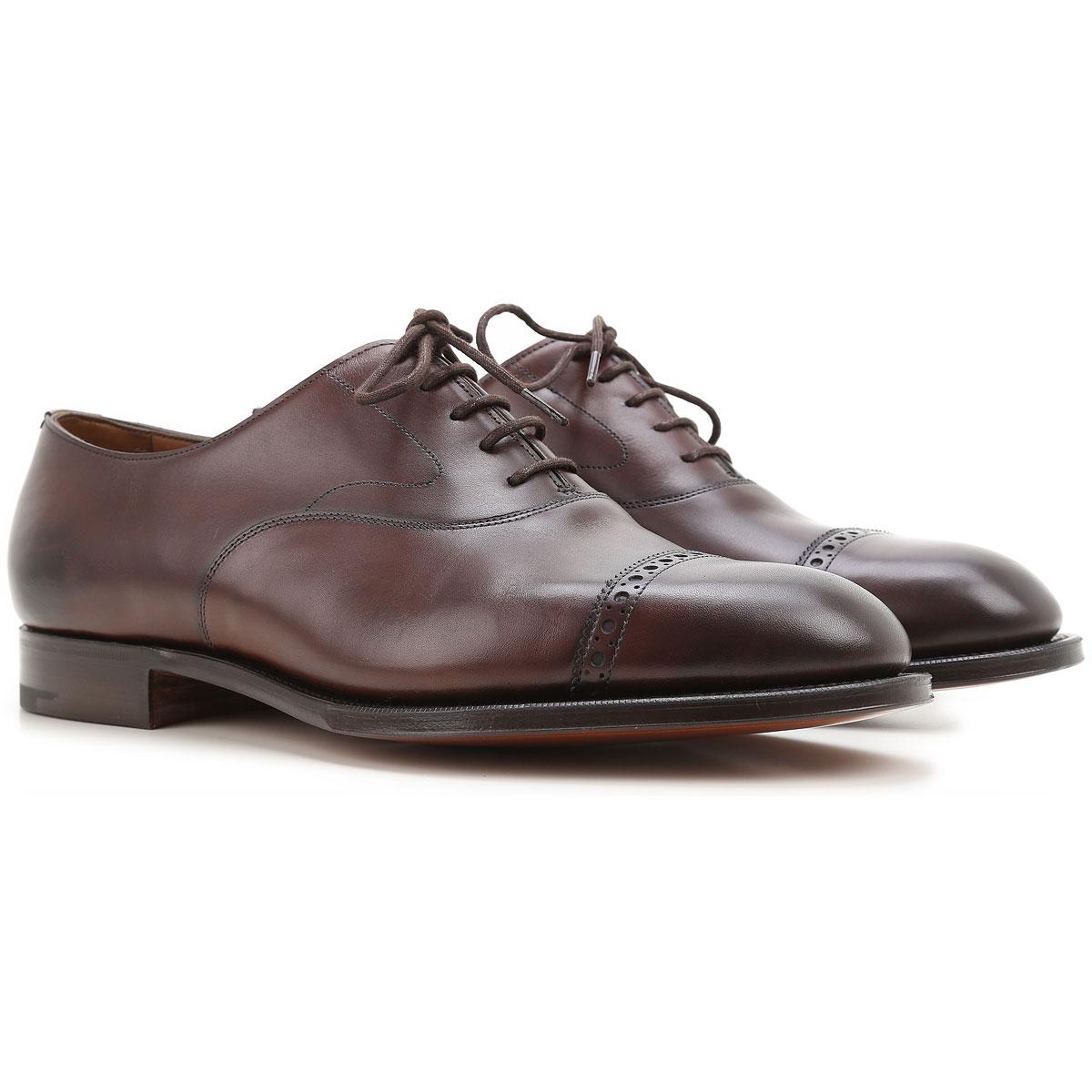 Image of Edward Green Lace Up Shoes for Men Oxfords, Derbies and Brogues On Sale, Ebony, Dark Oak Antique, 2017, UK 7.5 - 8 UK 8.5 - 9