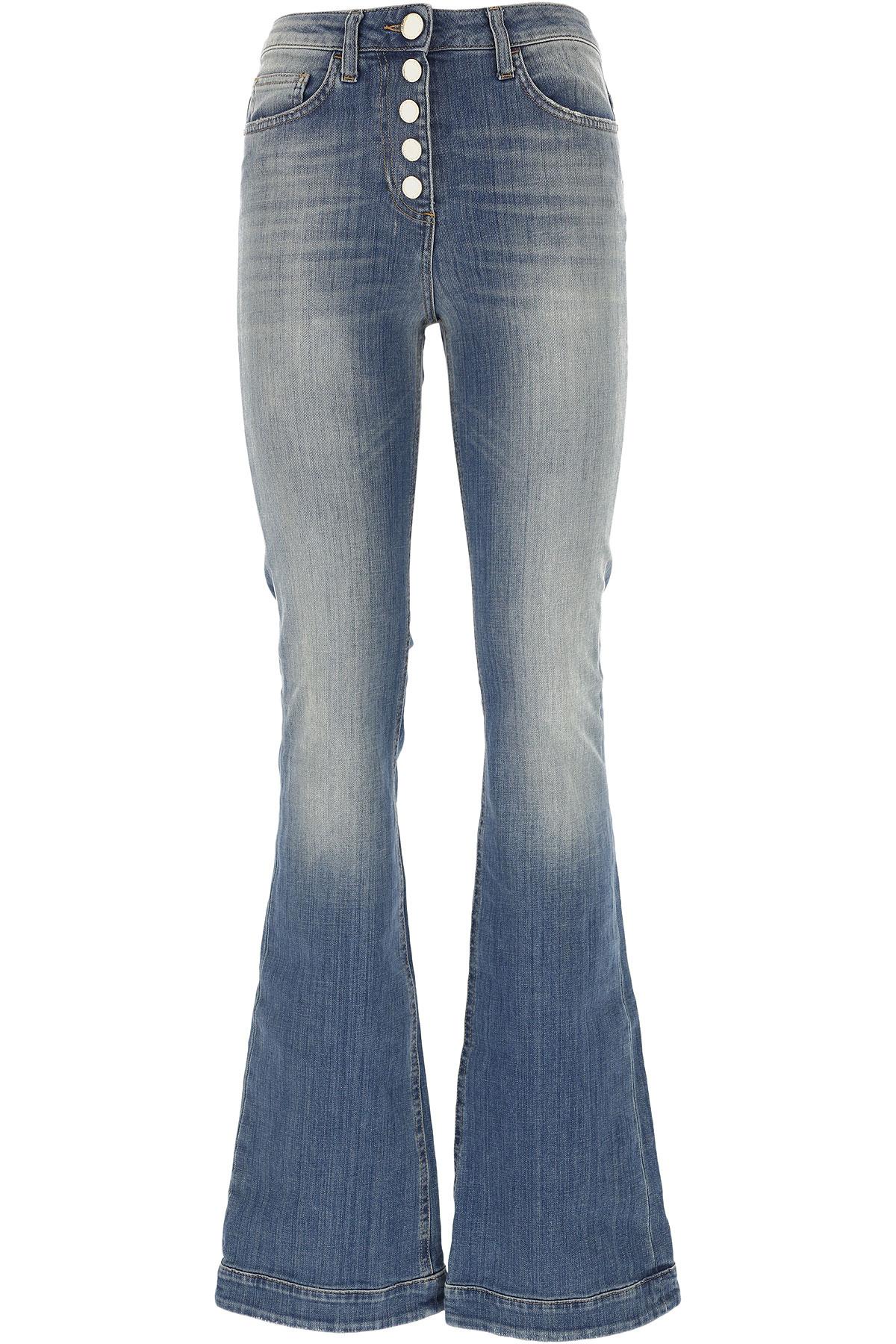 Elisabetta Franchi Jeans On Sale, Denim, Cotton, 2017, 27 28