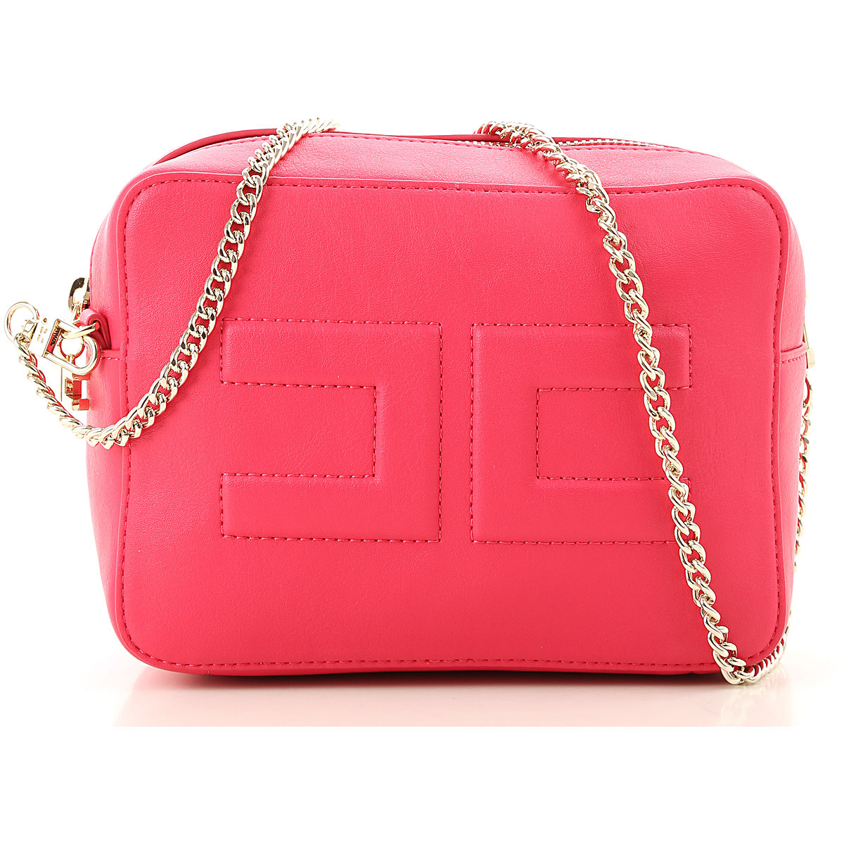 Elisabetta Franchi Girls Handbag On Sale, Fuchsia, polyurethane, 2019