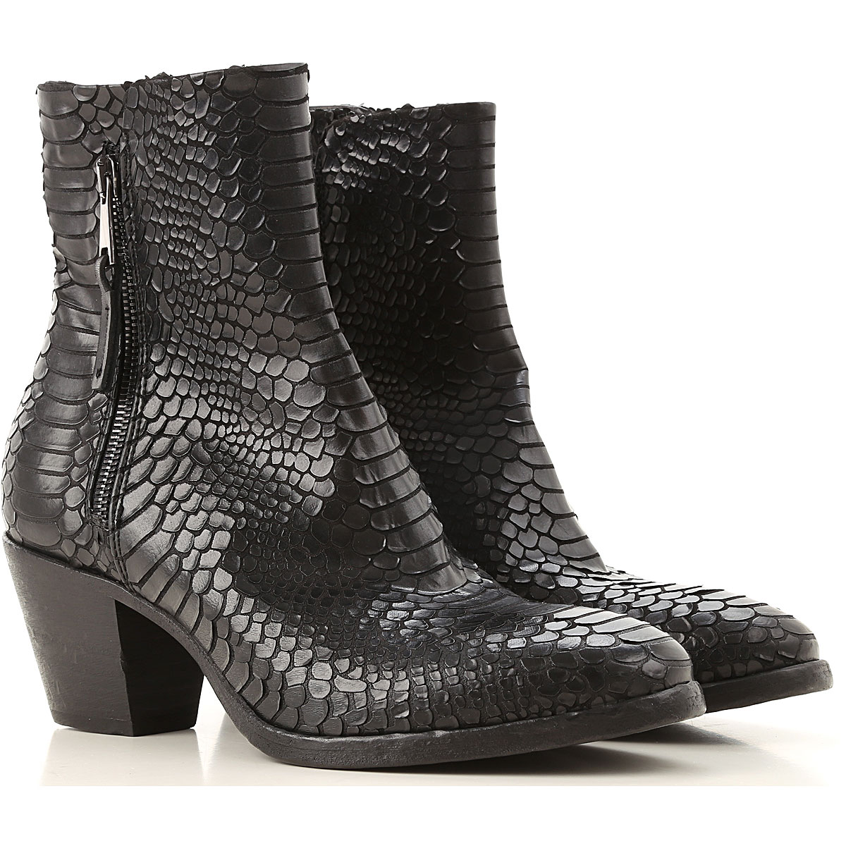 Elena Iachi Boots for Women, Booties On Sale, Black, Fabric, 2019, 10 5 6 6.5 7 8 8.5 9