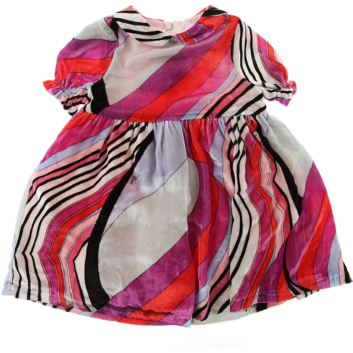 Image of Emilio Pucci Baby Dress for Girls, Red, Viscose, 2017, 12M 18M 6M 9M