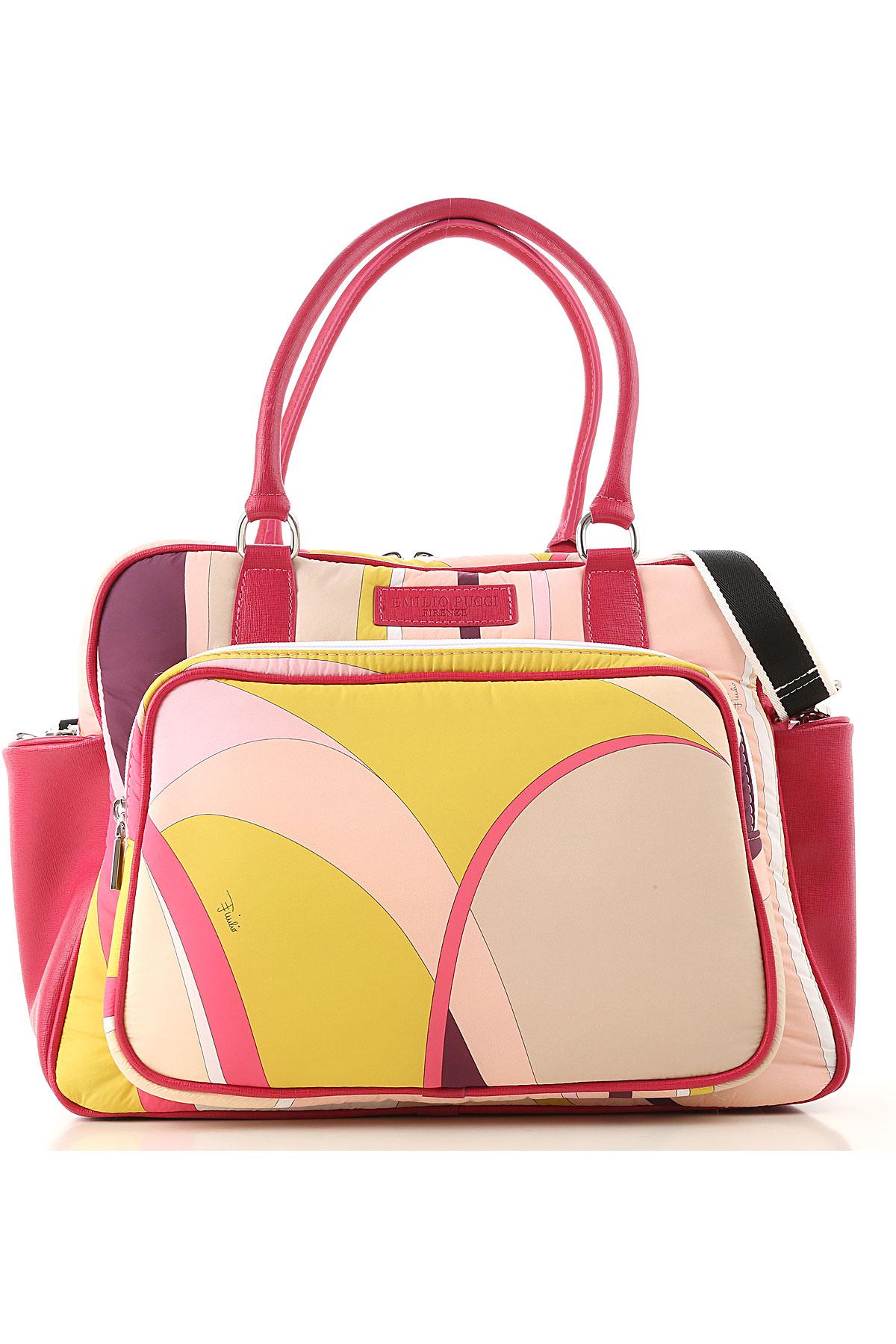 Emilio Pucci Baby Girls Handbag On Sale, Pink, Nylon, 2019