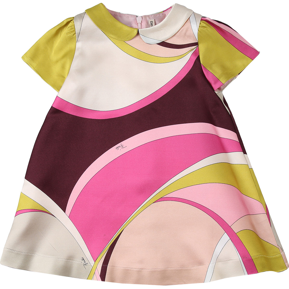 Emilio Pucci Baby Dress for Girls On Sale, Multicolor, Viscose, 2019, 12M 18M