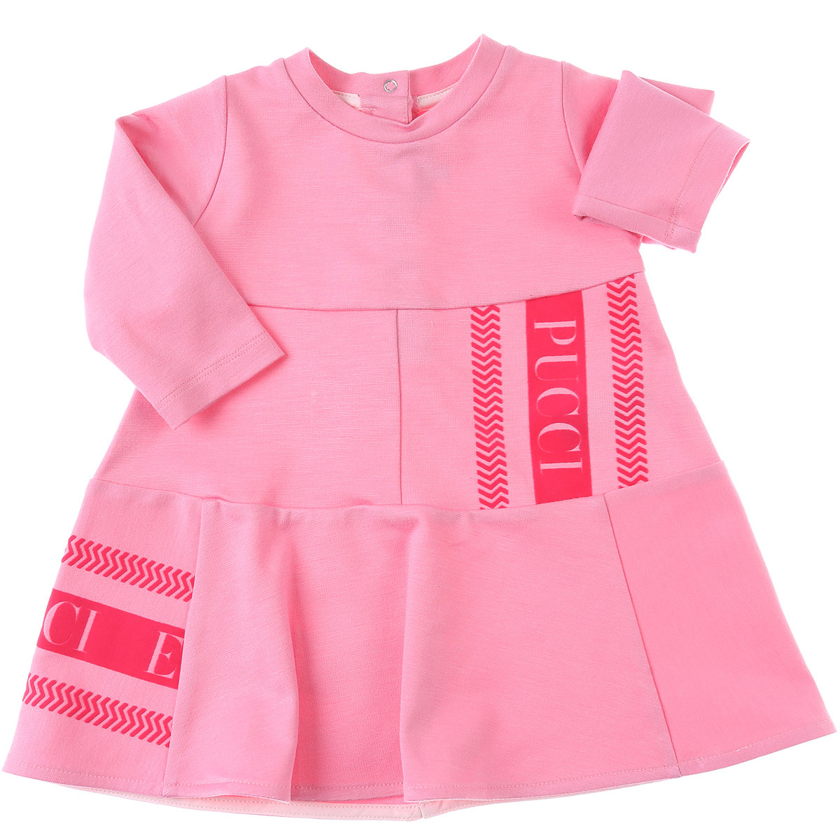 Emilio Pucci Baby Dress for Girls On Sale, Pink, Viscose, 2019, 12M 18M 2Y 6M