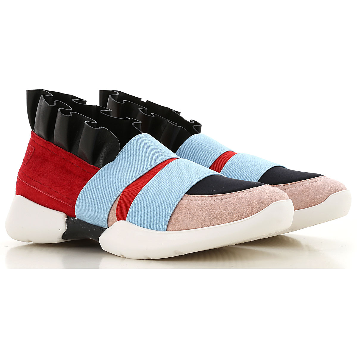 Image of Emilio Pucci Sneakers, Red, Calf Leather, 2017, 31 32 33 34 35