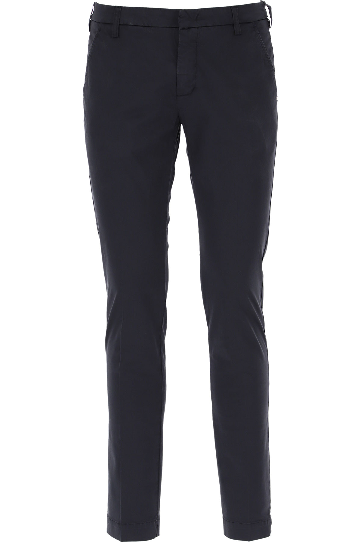 Entre Amis Pants for Men On Sale, Navy Blue, Cotton, 2019, 33 34 35 36