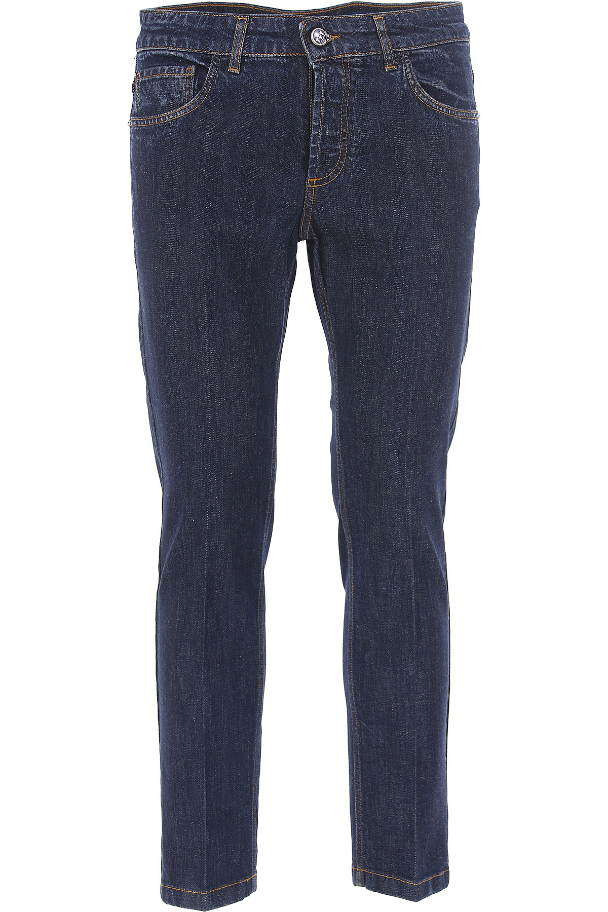 Image of Entre Amis Jeans On Sale in Outlet, Denim, Cotton, 2017, 30 32