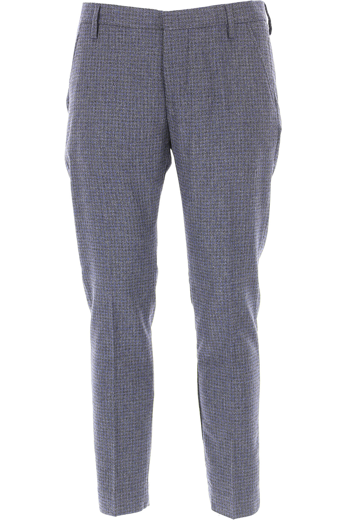 Entre Amis Pants for Men, Blue, Wool, 2019, 31 32 34 35 36