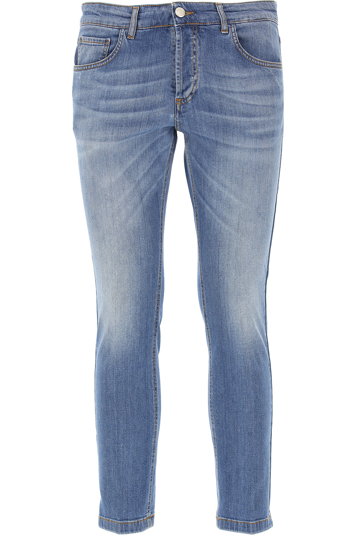 Image of Entre Amis Jeans On Sale, Denim, Cotton, 2017, 33 35 38