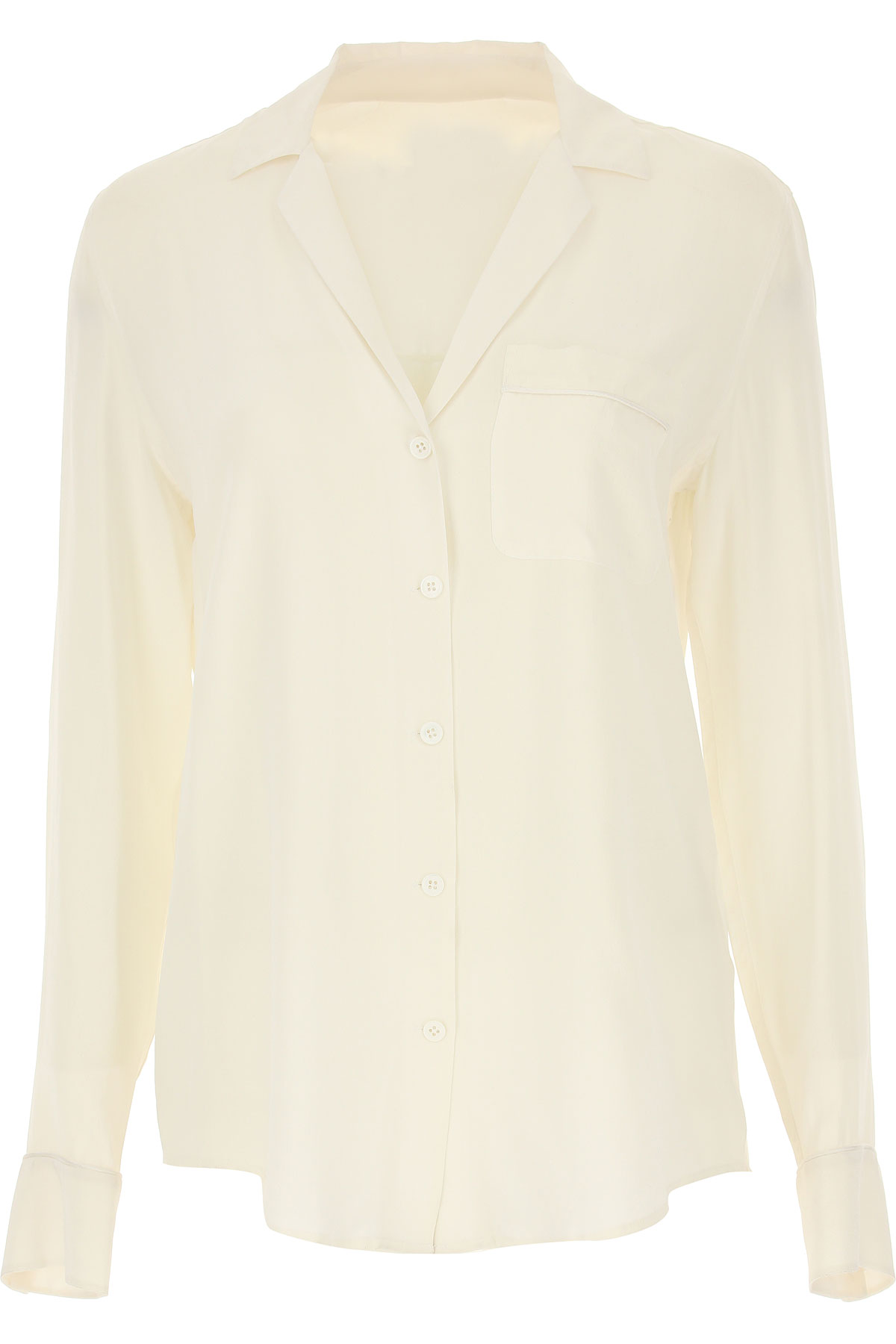 Image of Equipment Femme Shirt for Women, Bright White, Silk, 2017, 2 4 6 8