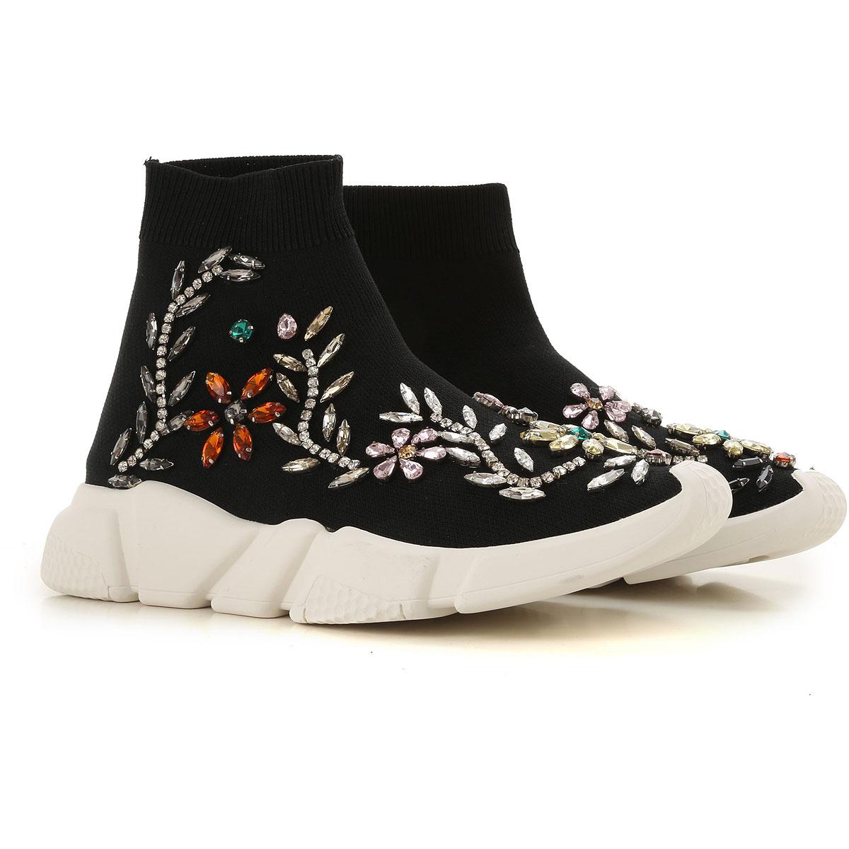 Image of ESSENTIEL Antwerp Boots for Women, Booties, Black, Fabric, 2017, 10 6 7