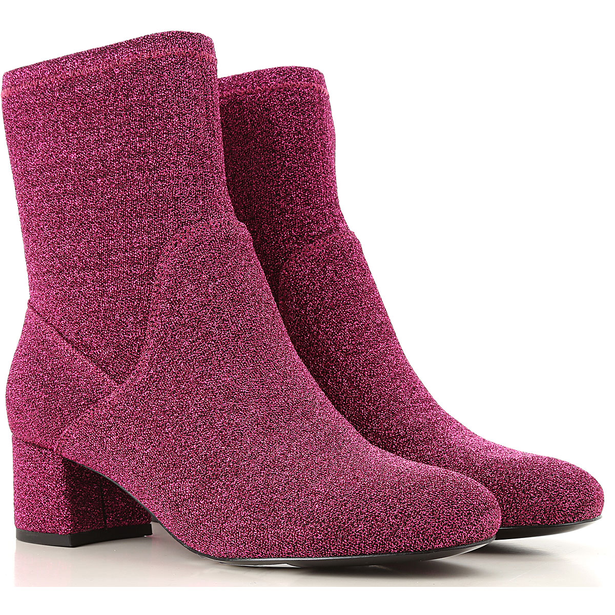 Image of ESSENTIEL Antwerp Boots for Women, Booties, Hot Coral, polyester, 2017, 10 6 7 8 9