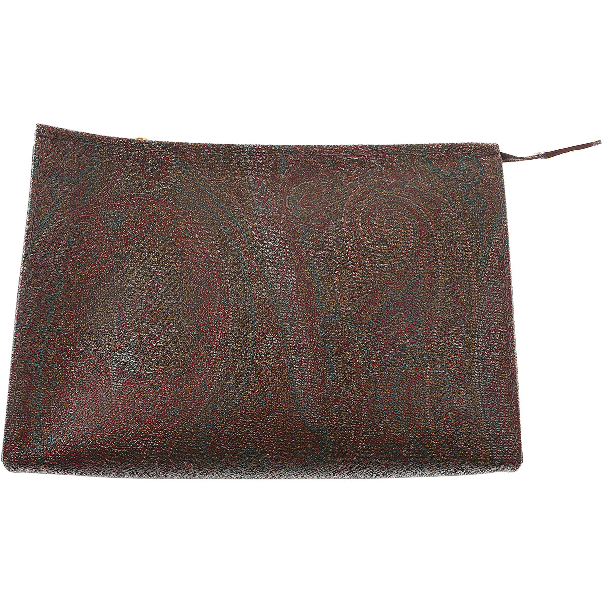 Image of Etro Pouches, Brown, Coated Canvas, 2017