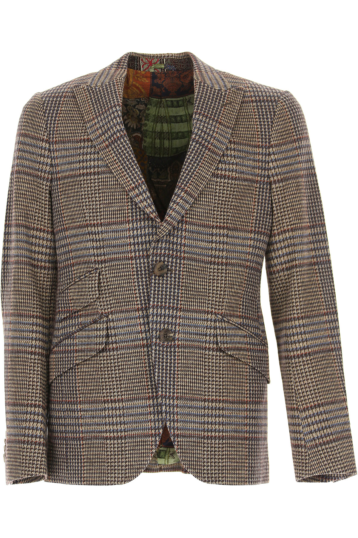 Image of Etro Blazer for Men, Sport Coat, Multicolor, Cotton, 2017, L M XL XXL XXXL