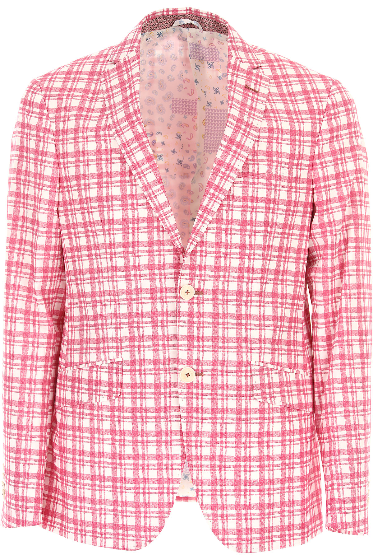 Etro Blazer for Men, Sport Coat On Sale in Outlet, White, Cotton, 2019, L XL