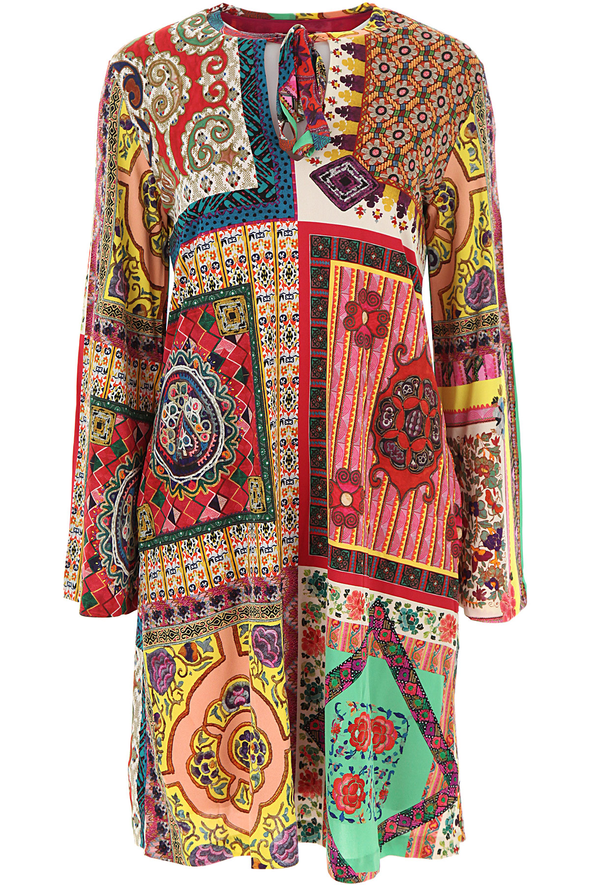 Etro Dress for Women, Evening Cocktail Party On Sale, Multicolor, Viscose, 2019, 4 6 8