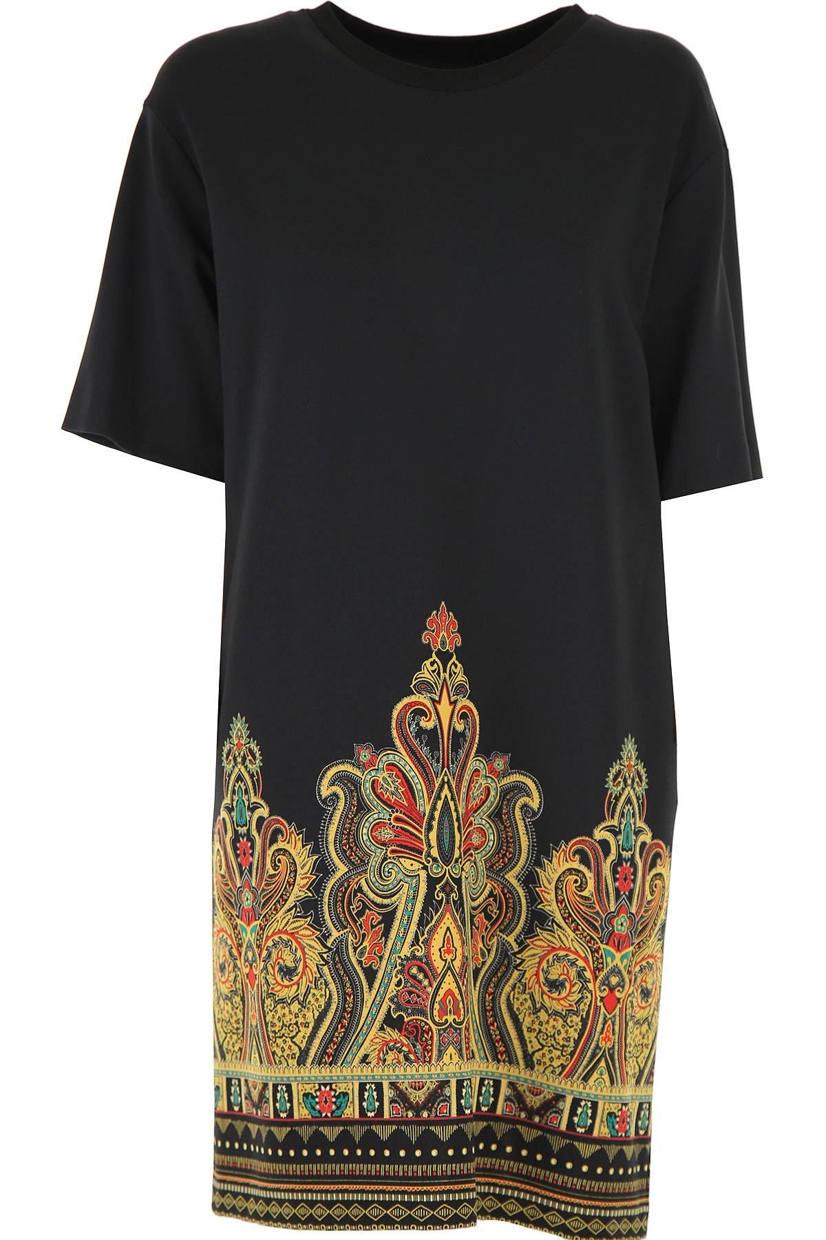 Etro Dress for Women, Evening Cocktail Party On Sale, Black, viscosa, 2019, 6 8